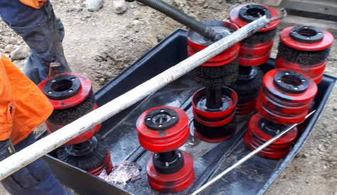 DECOMMISSIONING PIPELINE GROUTING Services